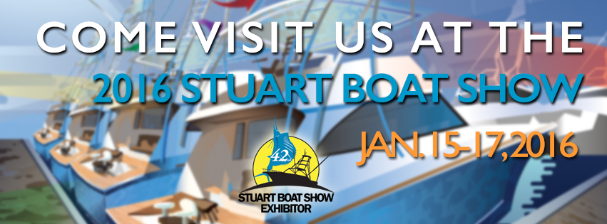 Stuart boat show jan 15 17 2016 zeno mattress for Anchor jewelry stuart fl